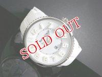 テンデンス TENDENCE Round Gulliver All white 3H ラウンド ガリバー オール ホワイト 腕時計 02033013AA