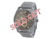 フォッシル FOSSIL グラント GRANT クオーツ クロノ メンズ 腕時計 FS4682