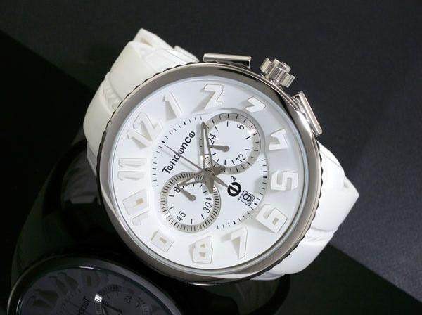 new product cc617 5ecad テンデンス TENDENCE ラウンドガリバー クロノ 腕時計 02036013AA