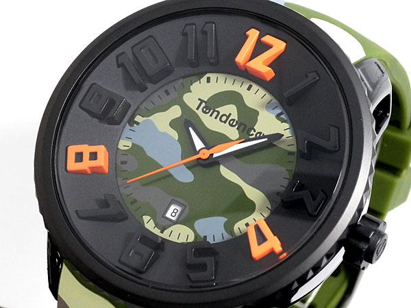 buy popular 9f4ee 2660a TENDENCE テンデンス Round Gulliver 迷彩 腕時計 02043030