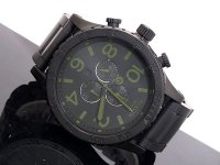 【即納】NIXON ニクソン 腕時計 51-30 CHRONO A083-1042 MATTE BLACK SURPLUS