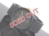 NIXON ニクソン 腕時計 PRIVATE SS A276-1041 MATTE BLACK GOLD