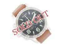 ニクソン NIXON 51-30 クロノ レザー CHRONO LEATHER 腕時計 A124-1037