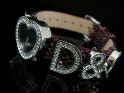 画像1: D&G ドルチェ&ガッバーナ I LOVE D&G レディースウォッチ DW0005