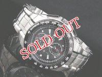 セイコー SEIKO 腕時計 クロノグラフ アラーム SNAB09P1