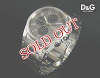 ドルチェ&ガッバーナ D&G 腕時計 クロノグラフ サンドパイパー 3719770123