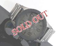 NIXON ニクソン 腕時計 51-30 CHRONO A083-1062 MATTE BLACK GUNMETAL