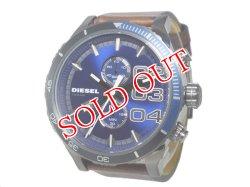 画像1: 【即納】ディーゼル DIESEL クオーツ メンズ クロノグラフ 腕時計 DZ4312