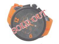テンデンス TENDENCE ラウンドガリバー クオーツ メンズ クロノ 腕時計 02046023