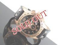 J.HARRISON ジョンハリソン クロノグラフ 腕時計 JH013-PGBK