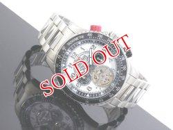 画像1: J.HARRISON ジョンハリソン 腕時計 手巻き オートマタ JH-006H-WB
