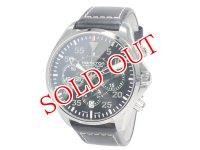 ハミルトン HAMILTON カーキ パイロット KHAKI PILOT 自動巻き クロノグラフ 腕時計 H64666735
