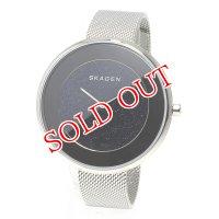 スカーゲン SKAGEN クオーツ レディース 腕時計 SKW2384 ブラック/ネイビー