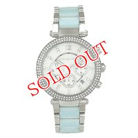 マイケルコース MICHAELKORS クロノ クオーツ レディース 腕時計 MK6138 ホワイト