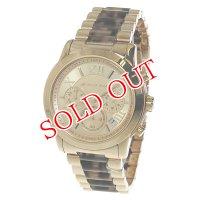マイケルコース クロノ クオーツ レディース 腕時計 MK6155 ピンクゴールド