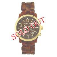 マイケルコース MICHAELKORS クオーツ クロノ レディース 腕時計 MK6235 ブラウン