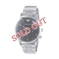 エンポリオ アルマーニ EMPORIO ARMANI クオーツ メンズ クロノ 腕時計 AR1863
