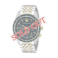 エンポリオ アルマーニ EMPORIO ARMANI クオーツ メンズ クロノ 腕時計 AR6088