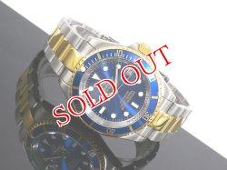 画像1: J.HARRISON 腕時計 自動巻き 腕時計 JH010-GBL