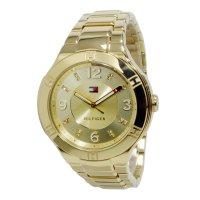 トミー ヒルフィガー TOMMY レディース クオーツ 腕時計 1781446 ゴールド