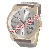 ディーゼル DIESEL ダブルダウン クオーツ メンズ 腕時計 DZ1701 シルバー
