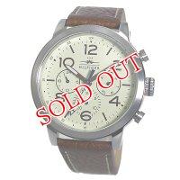トミー ヒルフィガー TOMMY HILFIGER クオーツ メンズ 腕時計 1791230 クリーム