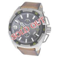 ディーゼル DIESEL ヘビーウェイト クロノ クオーツ メンズ 腕時計 DZ4393 ガンメタ