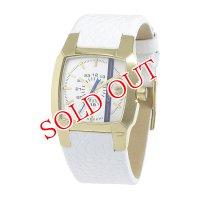 ディーゼル DIESEL クリフハンガー クオーツ ユニセックス 腕時計 DZ1681 ホワイト