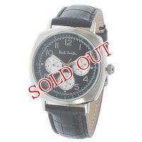 ポールスミス PAUL SMITH アトミック ATOMIC クオーツ メンズ 腕時計 P10041 ブラック