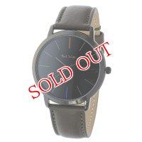 ポールスミス PAUL SMITH エムエー MA クオーツ メンズ 腕時計 P10090 ブラック