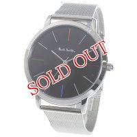 ポールスミス PAUL SMITH エムエー MA クオーツ メンズ 腕時計 P10055 ブラック