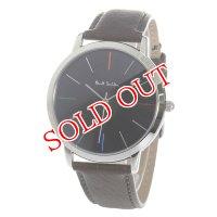 ポールスミス PAUL SMITH エムエー MA クオーツ メンズ 腕時計 P10052 ブラック