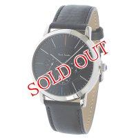 ポールスミス PAUL SMITH エムエー MA クオーツ メンズ 腕時計 P10110 ブラック