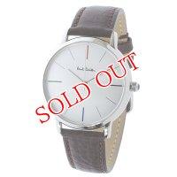 ポールスミス PAUL SMITH エムエー MA クオーツ メンズ 腕時計 P10100 シルバー