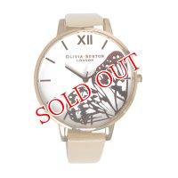 オリビアバートン OLIVIA BURTON 腕時計 OB16AM94 ホワイト×ピンクゴールド