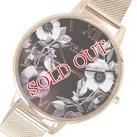 オリビアバートン OLIVIA BURTON 腕時計 OB16PL26 ブロンズ×ピンクゴールド