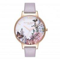 オリビアバートン OLIVIA BURTON 腕時計 アフター ダーク グレーライラック&ローズゴールドル OB16WG34