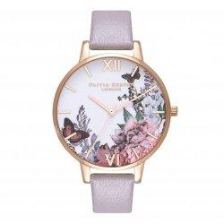 画像1: オリビアバートン OLIVIA BURTON 腕時計 アフター ダーク グレーライラック&ローズゴールドル OB16WG34