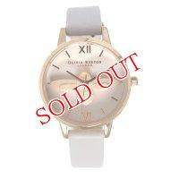 オリビアバートン OLIVIA BURTON 腕時計 OB16AM85 ライトベージュ