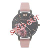 オリビアバートン OLIVIA BURTON 腕時計 AFTER DARK BLACK DIAL&ROSE FLORAL OB15FS60