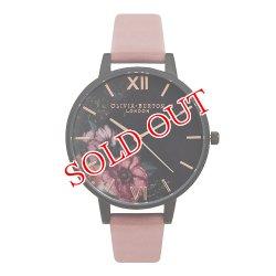 画像1: オリビアバートン OLIVIA BURTON 腕時計 AFTER DARK BLACK DIAL&ROSE FLORAL OB15FS60