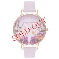 オリビアバートン OLIVIA BURTON 腕時計 Enchanted Garden Blossom & ローズゴールド 38mm OB16EG81 レディース