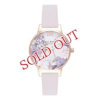 オリビアバートン OLIVIA BURTON 腕時計 Blush & ローズゴールド 30mm 女性 レディース 腕時計 レザー OB16MF02