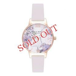 画像1: オリビアバートン OLIVIA BURTON 腕時計 Blush & ローズゴールド 30mm 女性 レディース 腕時計 レザー OB16MF02