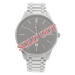 画像1: トミーヒルフィガー TOMMY HILFIGER 腕時計 メンズ 1791490 クォーツ グレー シルバー グレー