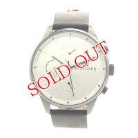 トミーヒルフィガー TOMMY HILFIGER 腕時計 メンズ 1791489 クォーツ シルバー ブラック シルバー