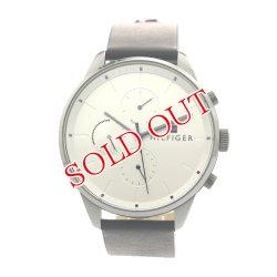 画像1: トミーヒルフィガー TOMMY HILFIGER 腕時計 メンズ 1791489 クォーツ シルバー ブラック シルバー