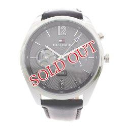 画像1: トミーヒルフィガー TOMMY HILFIGER 腕時計 メンズ 1791548 クォーツ グレー ブラック グレー