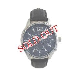 画像1: トミーヒルフィガー TOMMY HILFIGER 腕時計 メンズ 1791468 クォーツ ネイビー ブラック ネイビー