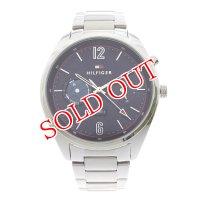 トミーヒルフィガー TOMMY HILFIGER 腕時計 メンズ 1791551 クォーツ ネイビー シルバー ネイビー